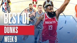 Download Video NBA's Best Dunks | Week 9 MP3 3GP MP4