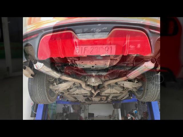 Độ pô Thailan Cho Ford Mustang Tại HTC AUTOCAR