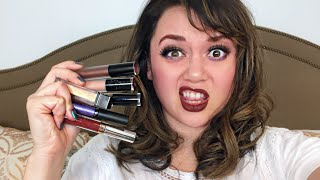 FULL FACE USING ONLY LIQUID LIPSTICKS Challenge | Kat Sketch by Kat Sketch