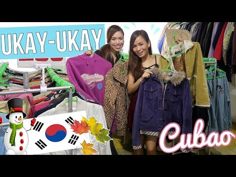 UKAY-UKAY IN CUBAO (Pang Autumn And Winter In KOREA!!)