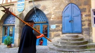 Rothenburg Ob Der Tauber Germany  City new picture : The Night Watchman of Rothenburg ob der Tauber - the medieval Jerry Seinfeld of Germany