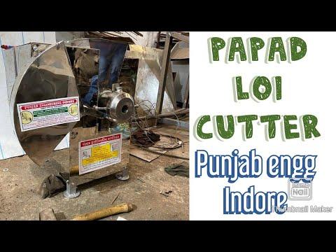 Loi Cutting Machine/ Dough Cutting Machine