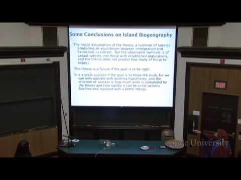 29. Insel Biogeographie und Invasive Species