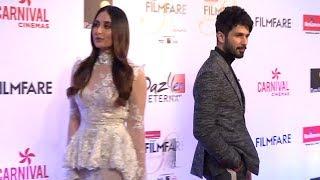 Video Shahid & Kareena Kapoor's AWKWARD Moments At Filmfare Glamour & Style Awards 2017 MP3, 3GP, MP4, WEBM, AVI, FLV Juni 2018
