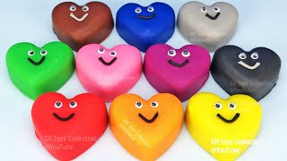 Video Play Doh Hearts and Cookie Cutters Molds | Learn Colors for Kids MP3, 3GP, MP4, WEBM, AVI, FLV Maret 2019