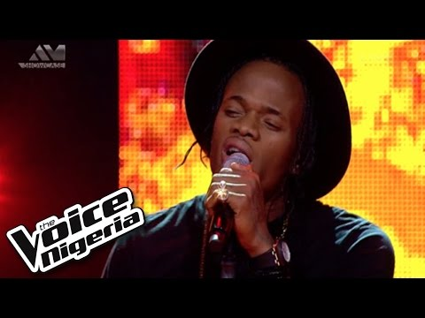 "Armstrong Sings ""fire On The Mountain"" / Live Show / The Voice Nigeria 2016"