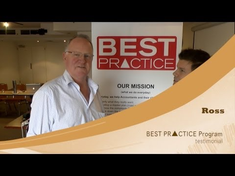 Best Practice Experience from Ross