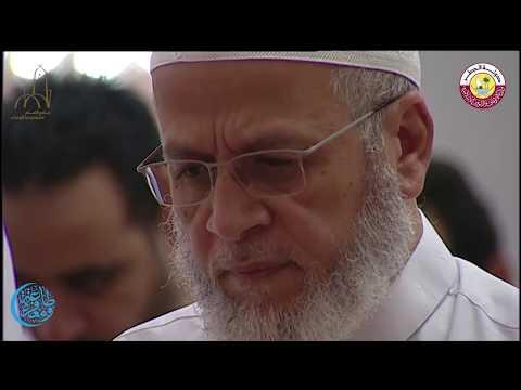 صلاة العشاء والتراويح بجامع الامام محمد بن عبد الوهاب يوم الثلاثاء 4 رمضان 1438 هجريا