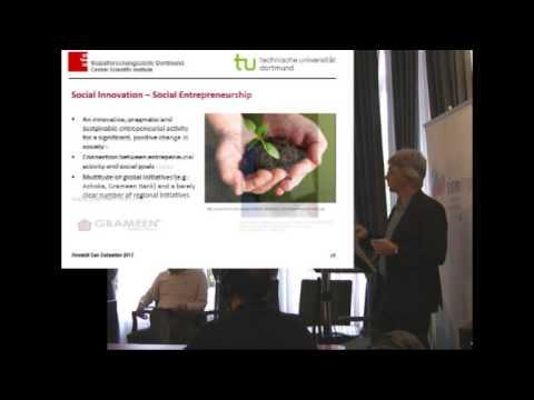 Jürgen Howaldt. Internacional Trends in Social Innovation