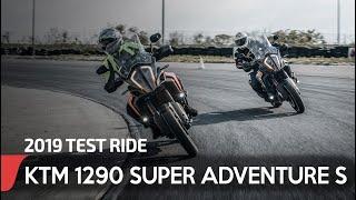 6. 2019 KTM 1290 SUPER ADVENTURE S test ride & review   eblogMOTO