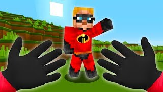 REALISTIC MINECRAFT - STEVE MEETS THE INCREDIBLES • (The Incredibles 2)