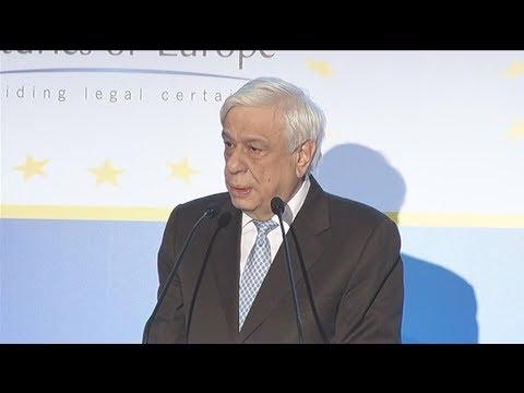 Ο ΠτΔ στην τελετή ανάληψης της Προεδρίας των Συμβολαιογραφιών της Ευρωπαϊκής Ένωσης