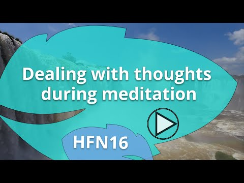 Dealing with thoughts during Heartfulness Meditation