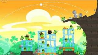 Angry Birds Seasons Go Green, Get Lucky Gameplay Trailer