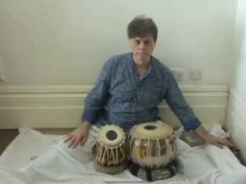 tabla gharana - Please Read --- Playing the kaida demonstration 00:00 to 08: 20 ------ pre (vampire) chat 08:20 to 16 ;05 - lesson (head) begins at 16:05 ---- 35:55 1st vari...