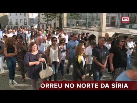 FUNERAL DE MÁRIO NUNES: O PORTUGUÊS QUE MORREU A COMBATER O ESTADO ISLÂMICO