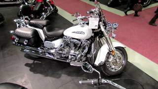 5. 2012 Yamaha Road Star Silverado at 2012 Montreal Motorcycle Show