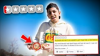 Video Eating at the WORST REVIEWED RESTAURANT in my City! (1 STAR) MP3, 3GP, MP4, WEBM, AVI, FLV Januari 2019