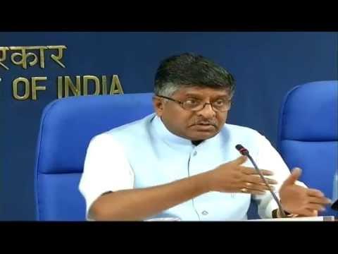 "Press Conference by Shri Ravi Shankar Prasad on ""Digital India Mission"" : 26.06.2015"