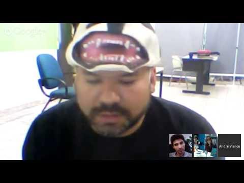 Hangout Halloween com Marcos DeBrito, André Vianco e editora Rocco