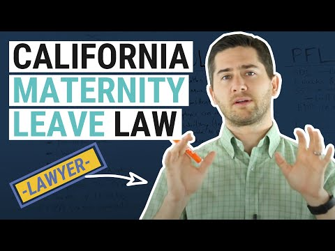 CA Maternity Leave Explained by an Employment Lawyer