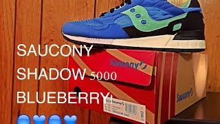 Picked these Saucony Shadow 5000s up from Amazon for $56 shipped!!They're from the 'Fresh Picked' pack and these are of course the Blue Berries.