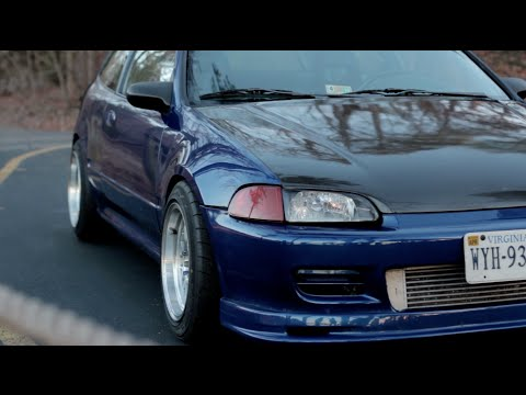 Turbo B20 Honda EG Review!