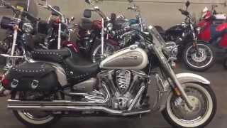 10. 2002 Yamaha Road Star 1600cc Silverado