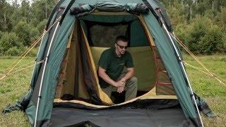Трехместная кемпинговая палатка купольного типа. Alexika Minnesota 3 Luxe