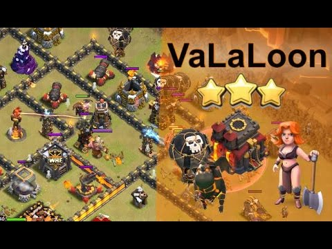 TH10 VaLaLoon - Destroy Any Standard TH10 Base