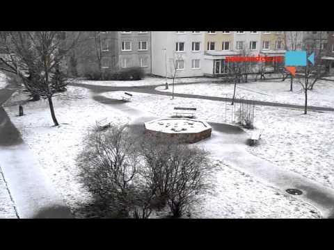 Jaro - sněhová pokrývka