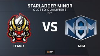 FFAmix vs NOM | Map 3 – Overpass | Asia Minor MENA Closed Qualifier – StarLadder Major 2019