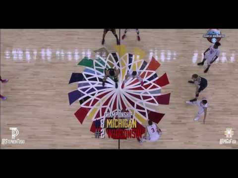"Michigan Basketball 2017 || ""The Crashed Champions"" || Big Ten Tournament Championship Run"