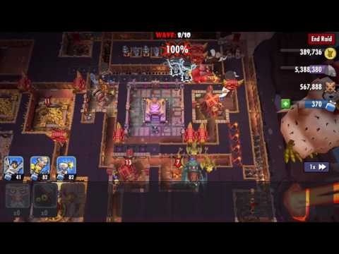 2017-02-15 Dungeon Keeper Exclusive Survival Raid - Magmaw HD 1080p (видео)