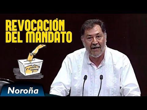Revocación del Mandato: La Oposición tiene MIEDO del Pueblo - Noroña