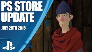 PlayStation Store Highlights - July 29th 2015
