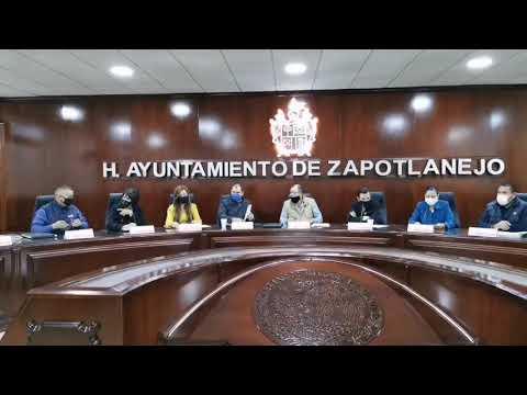 Sesión de Ayuntamiento de Zapotlanejo No. 57 de carácter extraordinario. 23 de noviembre de 2020