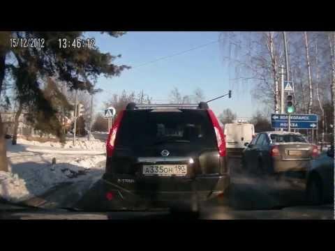 Авария на выезде из г. Дедовск