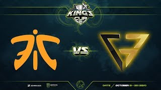 Fnatic против Clutch Gamers, Первая карта, Play-Off, SEA Region, King's Cup 2