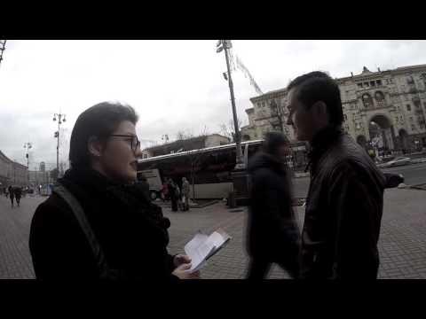 Акция ко Дню прав человека в Киеве