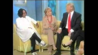 Whoopi Goldberg stops short of calling Donald Trump a racist