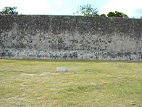 tonkaboy74 - The massive ballcourt at Chichen Itza - Mexico. Filmed in 2006.