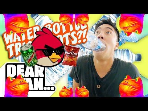 Ultimate Water Bottle Flip! (Dear Ryan)(MLG)(INSANE EDITING) (видео)