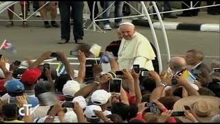 Santa Misa en la Plaza de la Revolución de La Habana