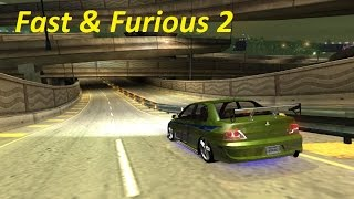 Need for Speed underground 2 - 2 Fast 2 Furious Brian's Mitsubishi Lanser Tuning