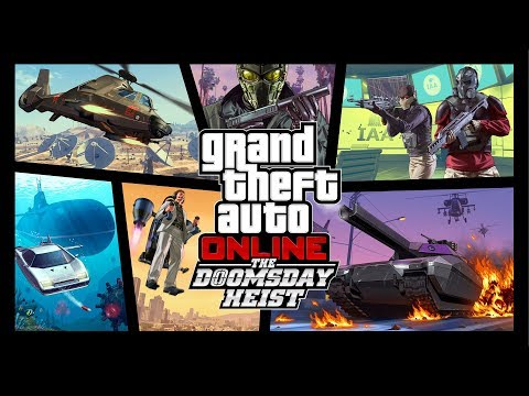 GTA Online: The Doomsday Heist - Trailer
