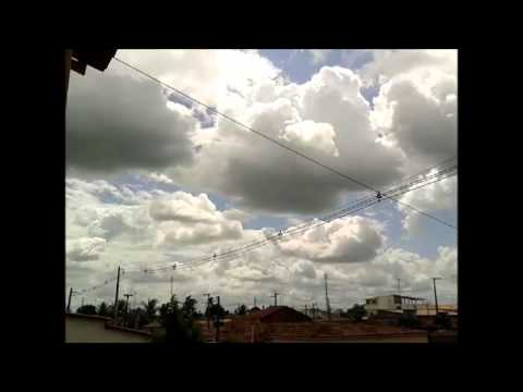 CUMULUS visible from  Sape PB (BRAZIL) 31/01/2016 TIME LAPSE