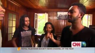 Ethiopian Music Amharic Band  Jano Band On CNN 2013