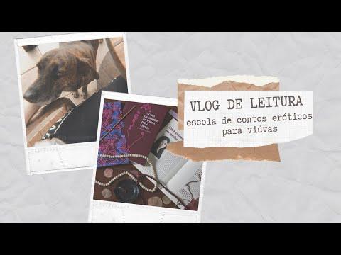VLOG DE LEITURA: ESCOLA DE CONTOS ERÓTICOS PARA VIÚVAS   Laura Brand