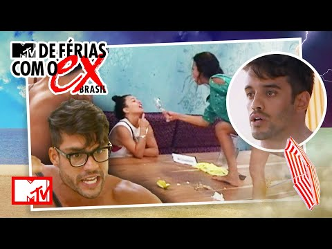 As brigas mais EXPLOSIVAS da 1ª temporada | MTV De Férias com o Ex Brasil T1